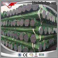 BS 1387 Construction material hot dipped galvanized rigid steel conduit pipe