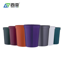Chinese manufacturer reusable bpa free biodegradable party 450ml plastic customize cups for sale