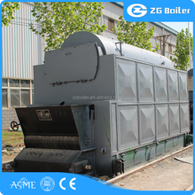 Factory transport biomass burning grate coal fired steam
