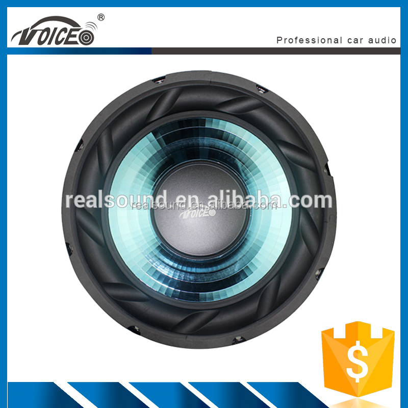 2015 hot selling 12 inch high power PA woofer car stereo