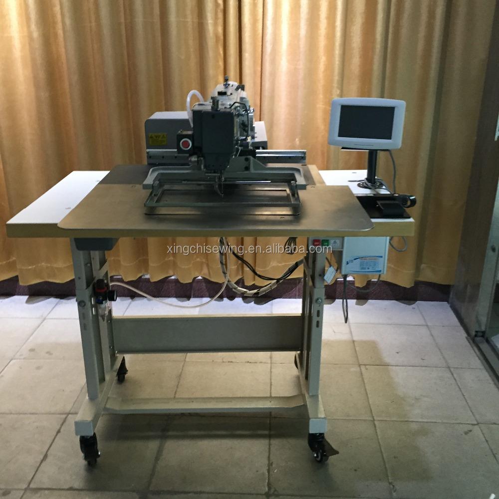 programmable pattern sewing machine