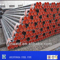 steel round hot welded new pipes steel tube for exterior wall finishing material