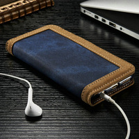 New Designer Cover for iPhone6 Leather, Jean Phone Case for iPhone6s, for iPhone 6 Wallet Case