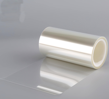 pet release film silicone coated polyester liner for PE adhesive tape