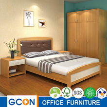 Bed room furniture/Hotel bed, wooden bed, teak wood bed/latest double bed designs