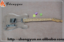 Shengque TL 6 String Maple Neck Acrylic Electric Guitar