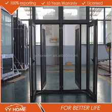 aluminum door and window manufacturing thermal break import aluminium casement window