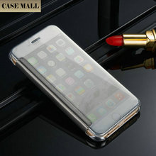 2016 Bulk Deals Wholesale Hot sale for iphone 6 case,High Quality Flip Cover Clear TPU For iPhone 6 Flip, for iPhone 6 Flip Case