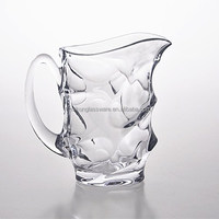 Polished High Quality Glass Whishky Pitcher or Water Pitcher