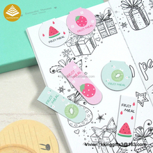 Hot selling christmas craft 3d magnetic paper clip bookmark to decorate promotion