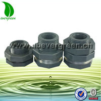 3/4 inch Plastic bulkhead fittings
