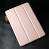 wholesale leather tablet case for ipad/Heat-pressing PU leather folio tablet case with standing function