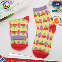 Promotions Good Quality Fashionable Design women cotton knitted sock