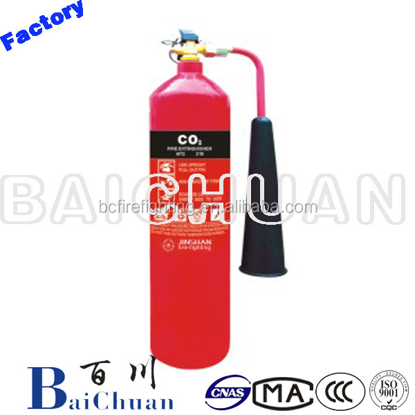 Portable 2kg Carbon Dioxide CO2 Fire Extinguisher