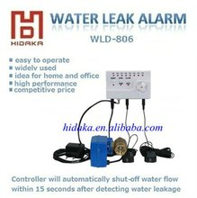 house water leak detector with electric valve water sensor for security home alarme system