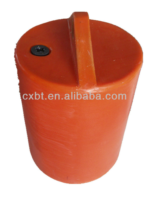 customized PE buoy with inject foam