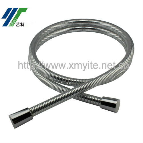 1.5m Luxury Silver Smooth PVC Shower Hose