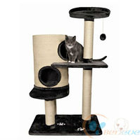 Cat Tree with Scratch Sisal Post Soft Plush Bed