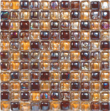 non-slip bathroom glass pebble mosaic floor tile price
