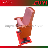 JY-608 factory price church pulpit chairs auditorium chair part church chairs wholesale metal cinema seating