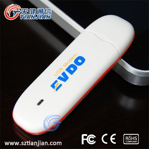 Popular and Cheap 3.1Mbps 3G CDMA 1X EV-DO USB Modem