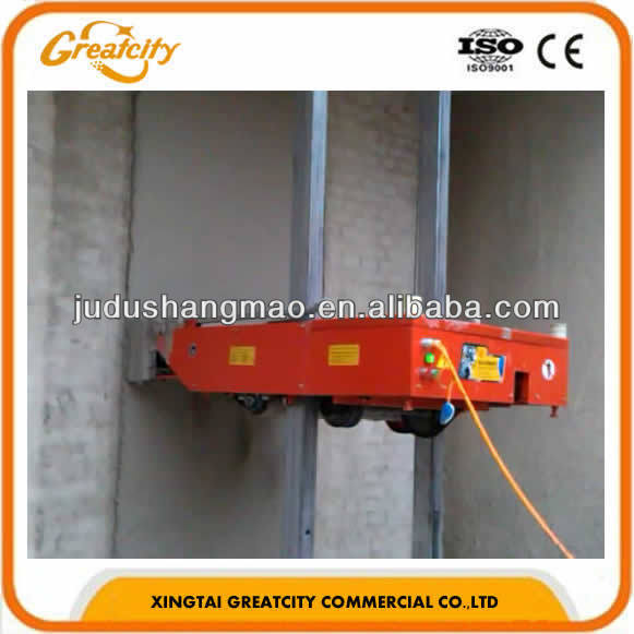Wall plastering machine agent