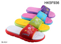 2015 new design women flip flops hotsale and cheaper EVA flip flops