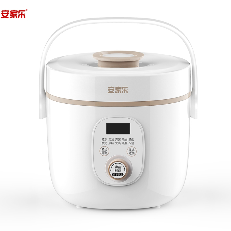 Home cookware non-stick pot plastic microwave rice cooker