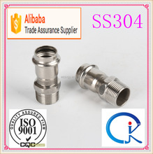Factory Price Adapter Coupling With Male Thread End Pipe Fitting