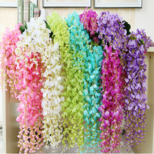 High quality Artificial Wisteria Flower Garlands Wedding Great for Home Wedding decorations 12pc/lot