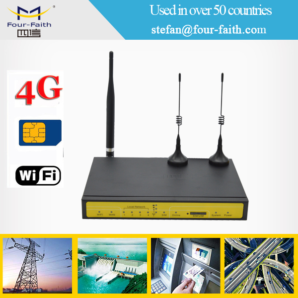 3g 4g industrial outdoor CCTV wireless vpn iot edge wifi smart router