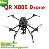 Professional FPV 5.8Ghz QR X800 Quadcopter GPS RC radio BNF 10000mAh battery alloy structure helicopter