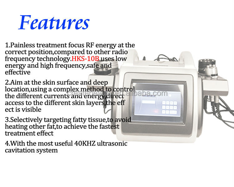 Multifunction cavitation slimming cavitation vacuum rf