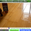 commercial and household uses carbonized horizontal Bamboo Flooring