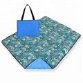 Large Quilted Waterproof Outdoor Camping Blanket in Tote Bag Style Great for Picnic, Beach, Camping, Festival,
