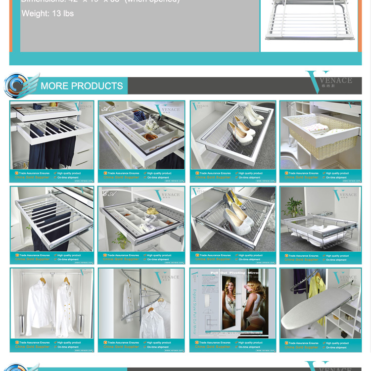 Aluminium Laundry Drying Center Clothes Drying Rack