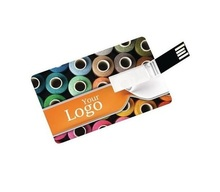 Promotion Gift Credit Card Size Usb Flash Drive Pen Drive 1GB