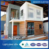 Modern 2 story 20ft prefabricated living container house, office container house