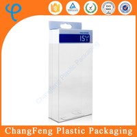 transparent plastic packaging box for phone case