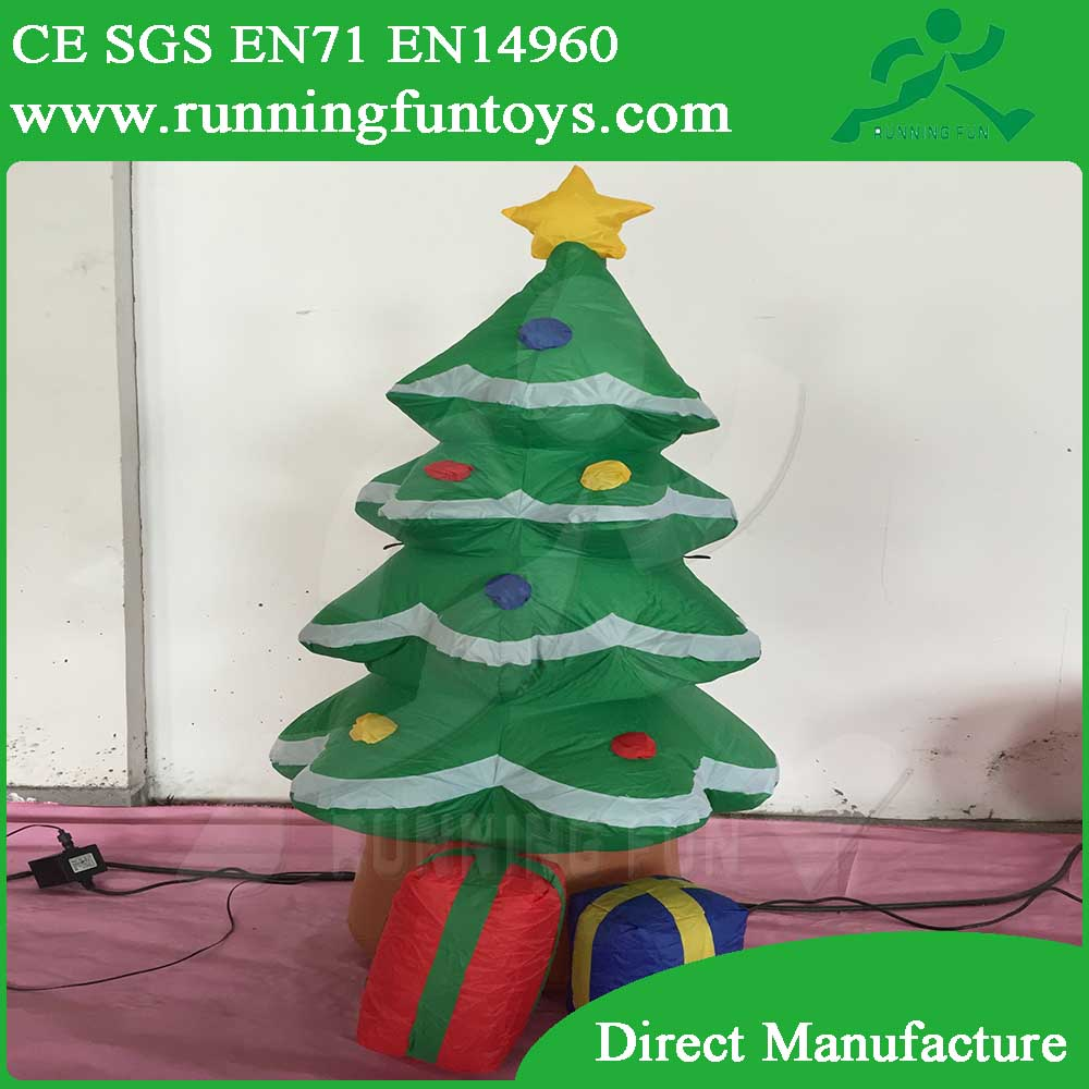 Inflatable decoration/120cm Christmas tree/blower for inflatable decoration ICL-0155