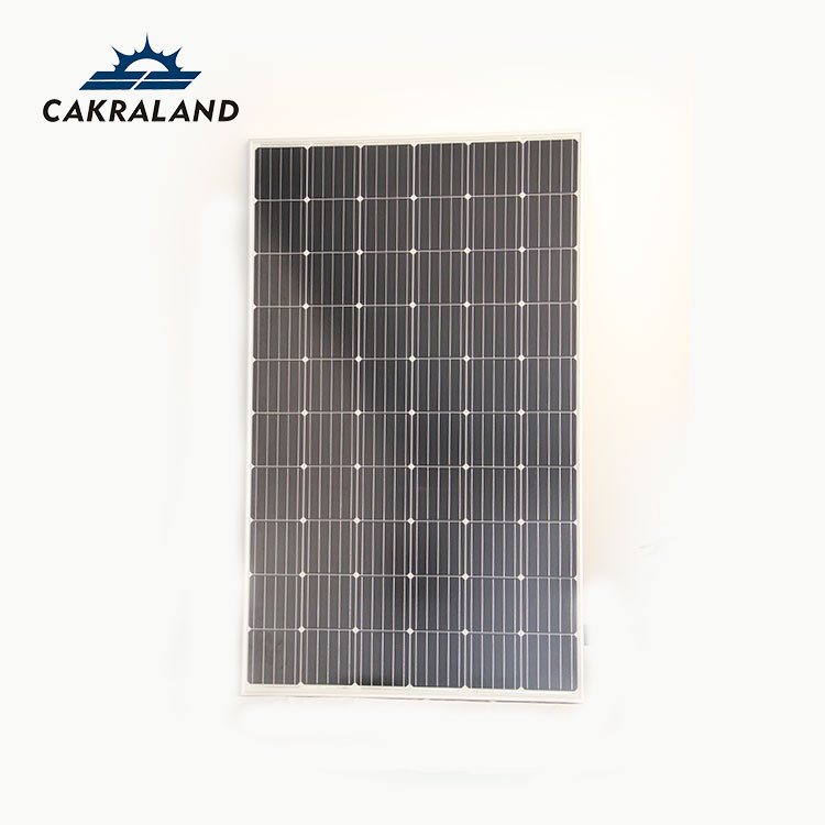 China good quality IP65 rated 24v 250W solar panel