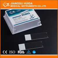 Hot sale HDA High clear Adhesion color frosted positive charge microscope slide
