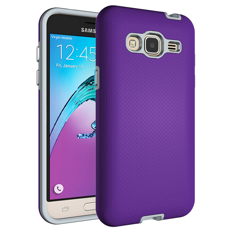 Shock-proof combo case for samsung galaxy j3 2016