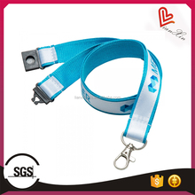 Customized Advertising Satin Polyester Lanyard for promotion