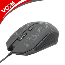 vcom high quality cheap optical Second Hand Gaming Mouse with LED Light