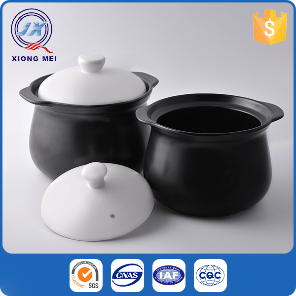 Luxury classic stoneware customized size casserole non-stick cookware