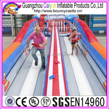 Kid and Adult used Inflatable Bungee Run