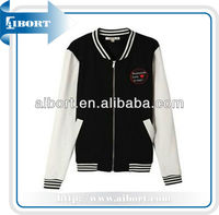 college style wool varsity baseball jacket