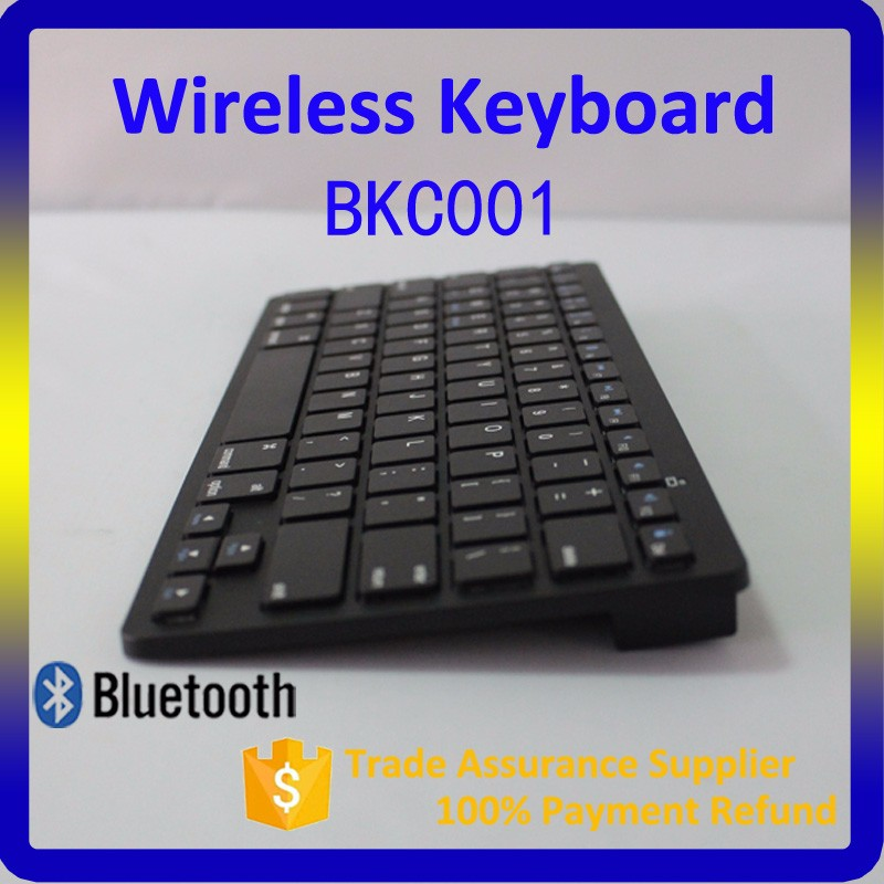 Mini Ultra Slim Wireless Bluetooth Keyboard for iPad