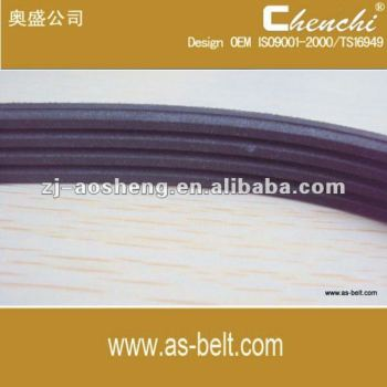 Automobile engine part rubber poly ribbed v belt OEM 6PK2050 6PK2390